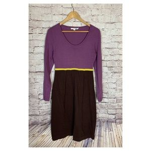 Boden Cotton Cashmere Angora Sweater Dress Midi 8